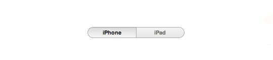 Switchen tussen iPhone en iPad apps
