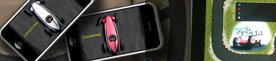 Pad Racer: een autoracespel op iPad te besturen met iPhone