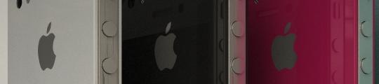 iPhone HD/4G/4GS in vijf verschillende kleuren