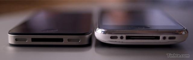 Concept van witte iPhone HD/4G/4GS