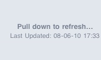 'Pull down to refresh' voor mail