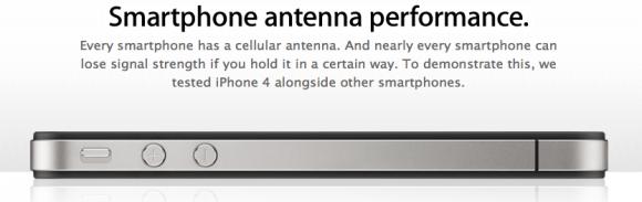 Apple post video Droid X antenneprestatie