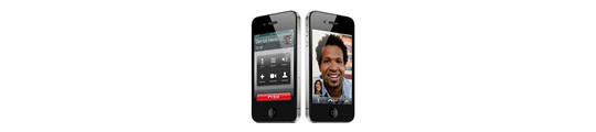 Faceplant is de app voor iPhone 4's FaceTime