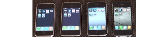 Video: snelheidstests tussen 4 generaties iPhone