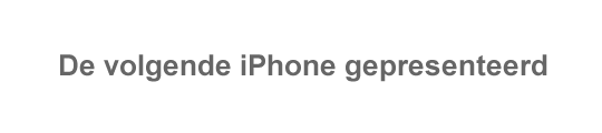 Humor: iPhone 4 krijgt update