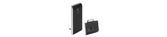 iWing streamt muziek van iPhone/iPod naar stereo