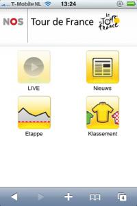 ... web-applicatie van de NOS is te openen via http://m.tour2010.nos.nl: www.iphoned.nl/nieuws/tour-de-france-2010-stream-voor-de-iphone...