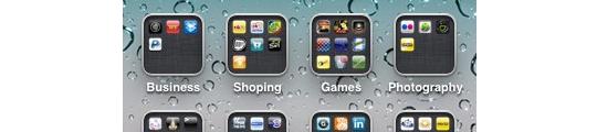 'Infinifolders' laat oneindig veel apps toe in 1 folder