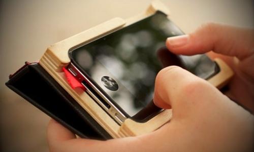 iPhone 4 onopvallend gebruiken met 'Little Black Book'