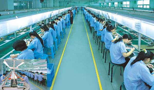 foxconn fabriek