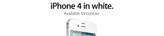 Betekent witte iPhone 4 uitstel van iPhone 5?