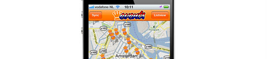 Koninginnedag 2011 App voor iPhone