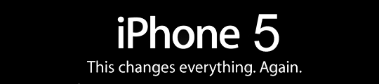 Foto iPhone 5 uitgelekt