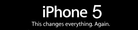 iPhone 5 datum in retail kalender