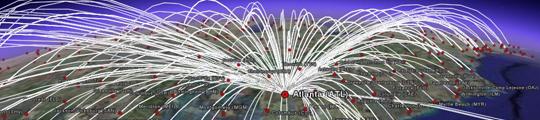 Video: Bewegingen van 880 iPhone-gebruikers