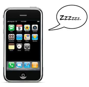 iphone slaap
