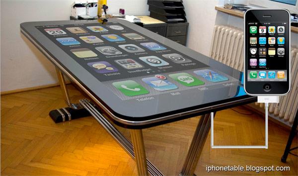 mega iphone tafel