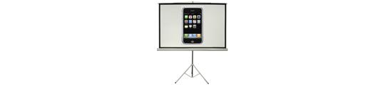 Apple werkt aan projector in iPhone