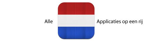 Alle applicaties van Nederlandse bodem op rij met nieuwe app
