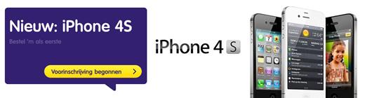 Hi toont iPhone 4S abonnementen