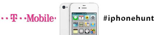 T-Mobile start met iPhonehunt en geeft 5 iPhone 4S' weg