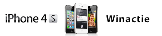 Winnaar iPhone 4S actie neemt prijs in ontvangst
