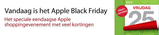 Vandaag Apple kortingen tijdens de Black Friday