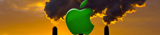 Apple op het matje geroepen door milieuvervuiling