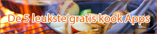 De vijf leukste gratis kook apps voor je iPhone