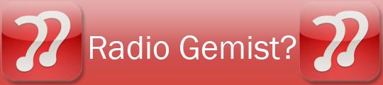 Winactie: RadioGemist