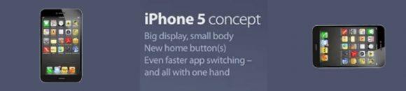 Nieuw iPhone 5 concept door Kris Groen