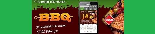 BBQ app op je iPhone ideaal bij mooi weer