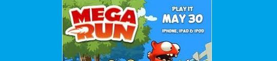 Game Mega Run als opvolger van Mega Jump op iPhone