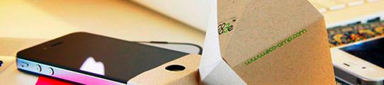 Eco-amp, een groene iPhone speaker