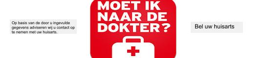 iPhone app: moet ik naar de dokter?