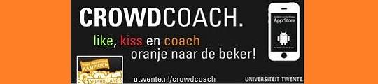 Word bondscoach van Oranje met de CrowdCoach app op je iPhone