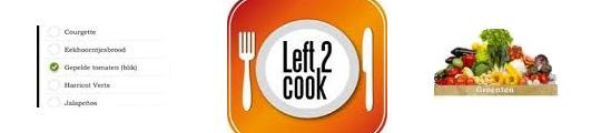 Met de iPhone Left2Cook app eet je elke dag lekker
