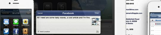 Facebook beter geïntegreerd in iOS 6