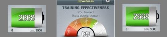 Registreer je bewegingen op je iPhone met de Mywellness app
