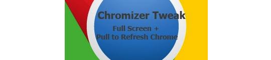 Chromizer voegt nieuwe functies aan Chrome toe