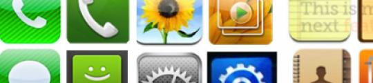 Samsung kopieert iconen van Apple