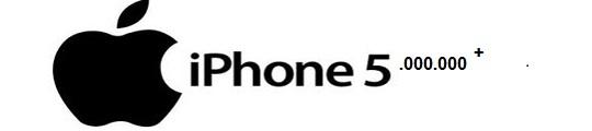 iPhone 5 in eerste weekend al vijf miljoen keer verkocht