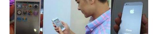 Werkende iPhone 5 gespot op internet