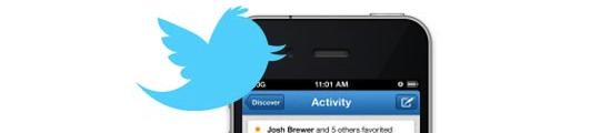 Twitter vernieuwt iPhone-applicatie