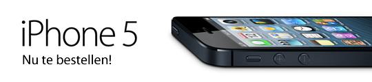 iPhone 5 verkoop vandaag gestart