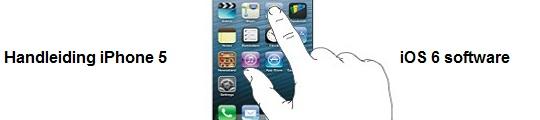 Handleiding iPhone 5 online beschikbaar