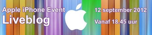 iPhone 5 event – Volg ons liveblog vanaf 18.45 uur