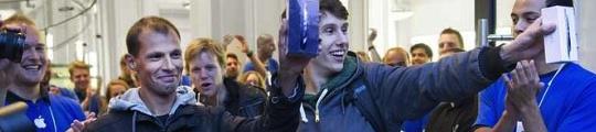 iPhone 5 vlot uitverkocht