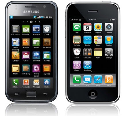 samsung galaxy iphone