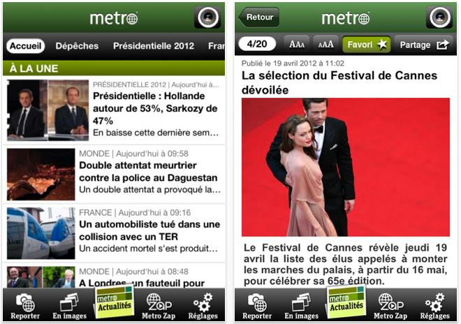 metro france
